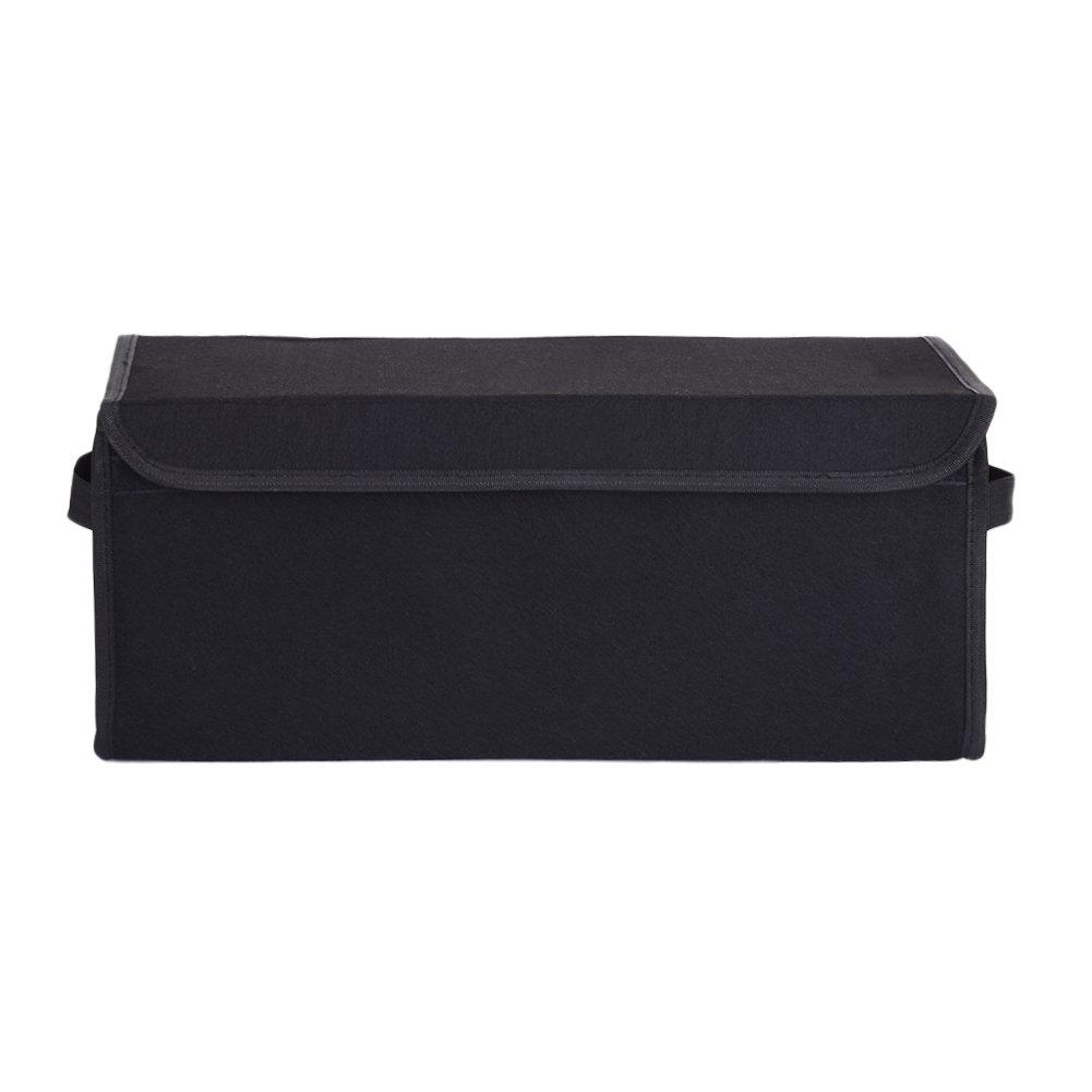 50*25*16 cm Auto Kofferraum Organizer mit Klettverschluss KlettKofferraumtasche Kofferraumbox Aufbewahrungstasche 50*25*16 cm