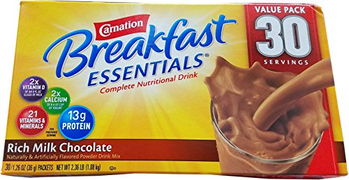 Essentials Complete Nutritional Drink Rich Milk Chocolate - 30 Servings 2.36 LB ()