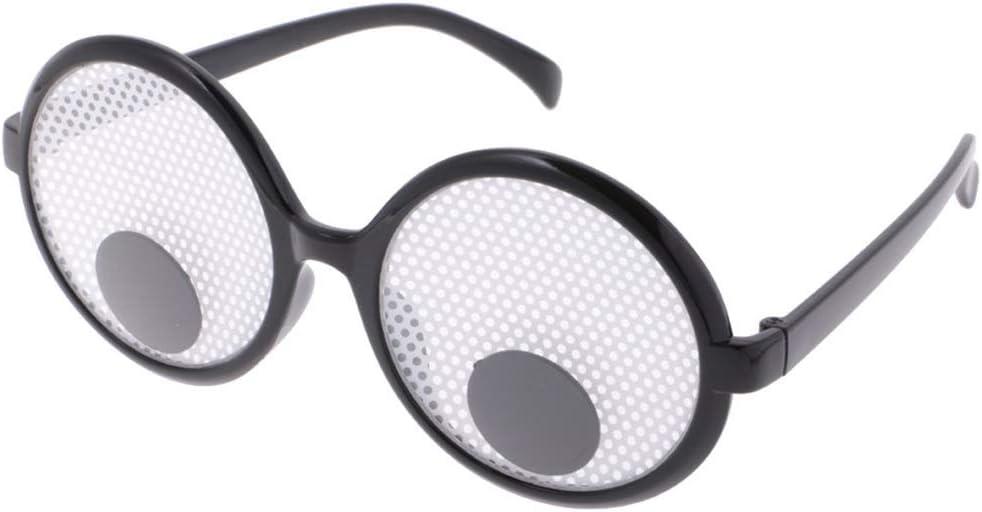 SeaStart Partybrillen Spa/ßbrillen Scherzartikel Glubschaugen Brille Faschingsbrille