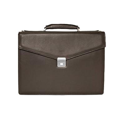 5668644c80 Amazon.com: Giorgio Armani Collezioni Men's Grained Leather ...
