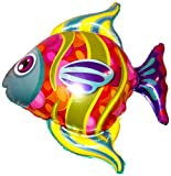 32'' FASHIONABLE FISH BALLOON - Amazing New HOVERING ANTI-GRAVITY TOY - Free Floating, Flying Fish Animal Kingdom Under The Sea Birthday Party Favor
