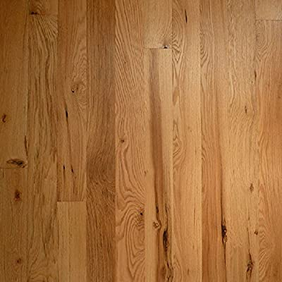 "Red Oak Character Prefinished Engineered Wood Flooring 5"" x 5/8"" Samples at Discount Prices by Hurst Hardwoods"