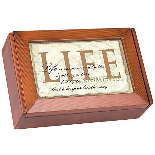 life-not-measured-the-moments-wood-finish-digital-music-box-plays-tune-my-wish