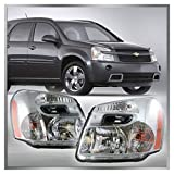 chevy equinox headlight assembly - Headlights Headlamps Left & Right Pair Set for 05-09 Chevy Equinox