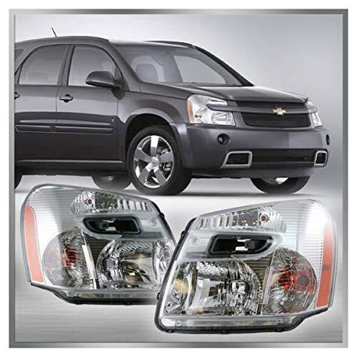 Headlights Headlamps Left & Right Pair Set for 05-09 Chevy Equinox (Equinox Headlamp)