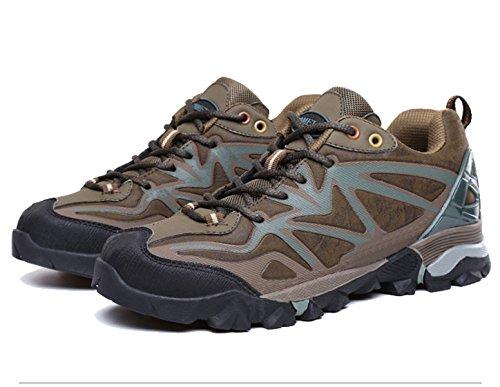 Confortables Transpirables Zapatos Al Aire Libre De La Aptitud De Senderismo Multicolor De Varios Tamaños Green