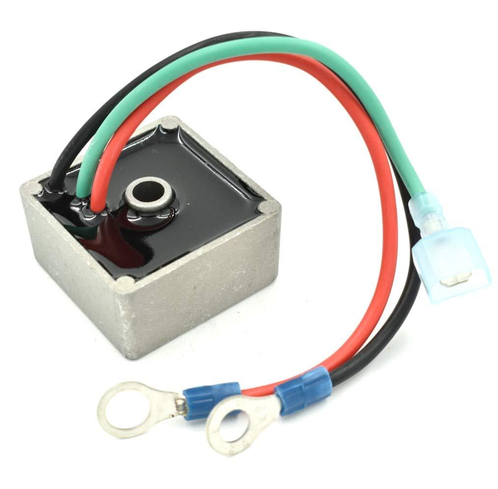 EZ-GO Gas Golf Cart Voltage Regulator Fits: TXT Medalist 1993-2013 - USA Ship, HD Switch
