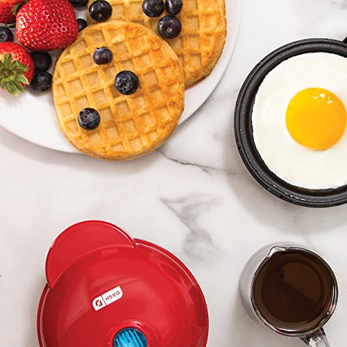 Dash DMS001RD Mini Maker - Griddle, Red by Dash (Image #2)