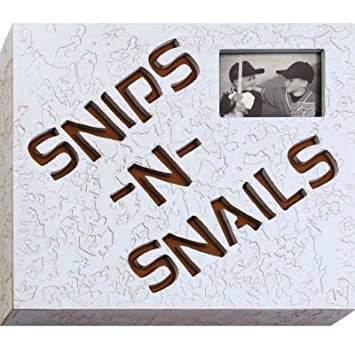 Amazon.com: Snips N Snails 5 x 7 3D Word Picture Frame: Baby