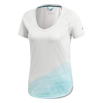 Adidas Amplifier - Camiseta, Todo el año, Mujer, Color Greone, tamaño 46: Amazon.es: Deportes y aire libre