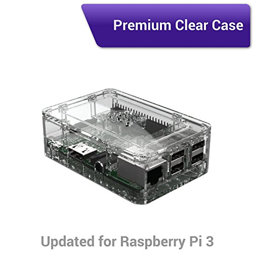 Viaboot Raspberry Pi 3 Complete Kit — Official Micro SD Card, Premium Clear Case Edition by Viaboot (Image #3)