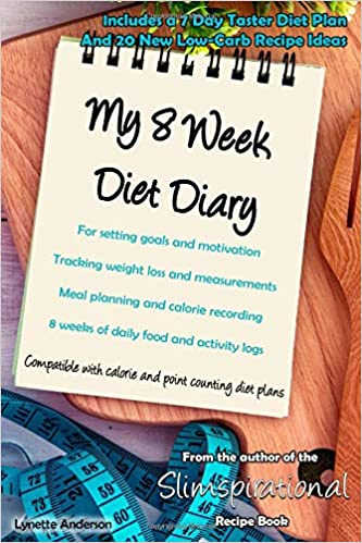 My 8 Week Diet Diary For Setting Goals And Motivation Tracking