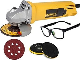 Digital Craft Dewalt DW801 4inch 850w Angle Grinder COMBO OFFER Angle Grinder  110 mm Wheel Diameter  Grinders