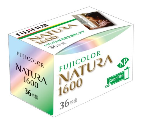 Fuji Natura 1600 135-36 (1600 Film)