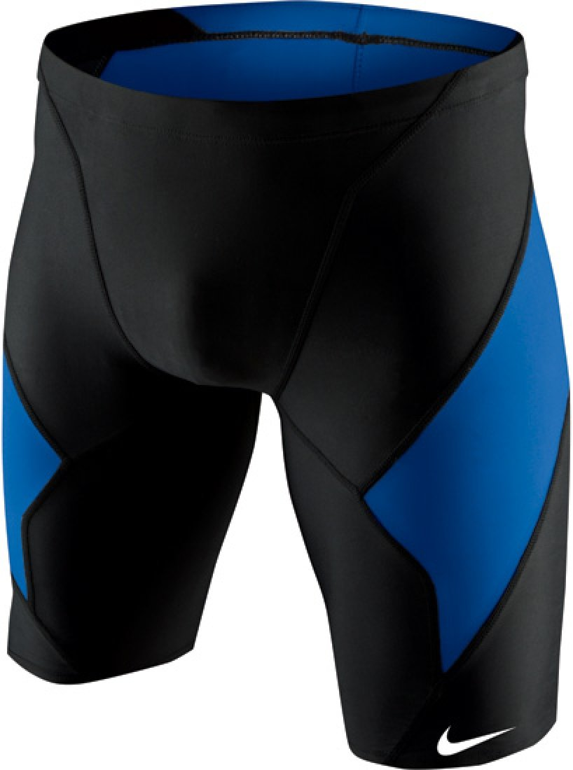 Nike Men's Victory Color Block Swim Jammer 36 Game Royal by Nike