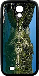 Blueberry Design Galaxy S4 Case Green amazing Cliff Design - Ideal gift