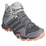 adidas outdoor Terrex AX2R Mid GTX Hiking Boot - Women's Grey Two/Grey Three/Chalk Coral, 7.0
