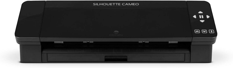 Silhouette Cameo 4 - Herramienta de corte electrónica, color negro ...