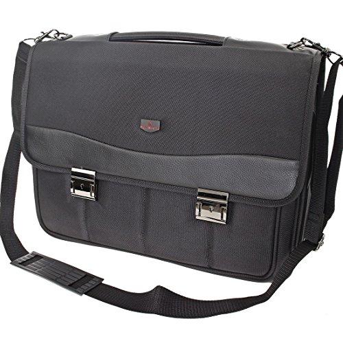 Trabajo–Bolsa para hombre bolso maletín de archivos funda bolso de hombro para documentos Business Oficina