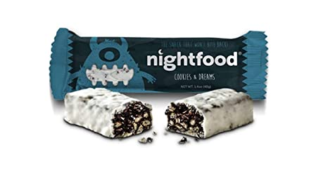 75e78318fb09 Amazon.com  NightFood Snack Bars for Better Night Snacking