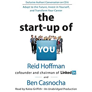 The Start-up of You Hörbuch