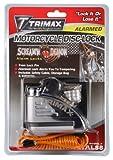 Trimax Alarm Disc Lock - Chrome TAL88