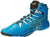 ASICS Unisex OmniFlex-Attack(tm) Blue Jewel/Lime/Silver Sneaker Men's 14 Medium
