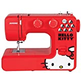 Janome 13512 Red Hello Kitty Sewing Machine