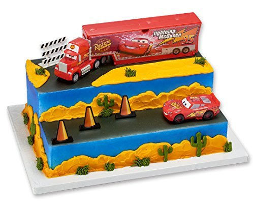- A1 Bakery Supplies Cars Built For Speed - Cake Decorating Set