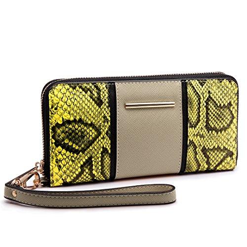 V Handbag Bag Shoulder Lulu Satchel Shape Women Khaki Print Snake Miss Purse Tote UAaBq1wxw