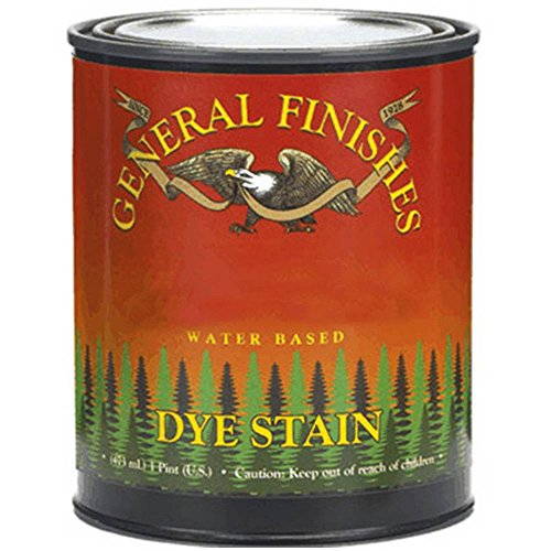 General Finishes DPB Water Based Dye, 1 Pint, Blue