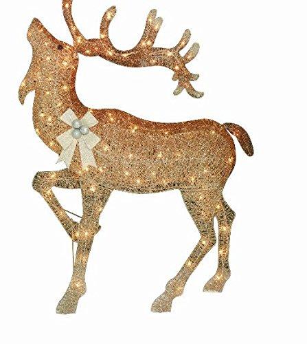"""52"""" Gradient Color Moose Light Sculpture"""