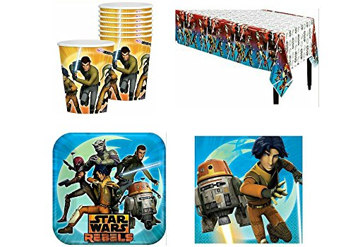 Star Wars Rebels Lunch Party Pack For 8 Guests