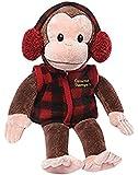 Curious George In Plaid Vest Stuffed Animal Plush