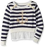 Nautica Girls' Long Sleeve Fashion Sweaters