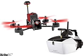 Walkera 15004750 - Furious 215 Racing de Quadcopter RTF - FPV de ...