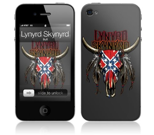 Zing Revolution MS-LS20133 Lynyrd Skynyrd - Bull Cell Phone Cover Skin for iPhone (Lynyrd Skynyrd Bull Skin)