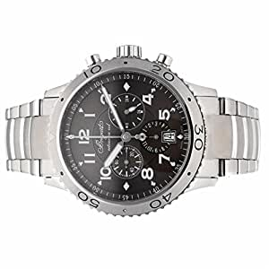 Breguet Type XX / Type XXI automatic-self-wind mens Watch 3810ST/92/SZ9 (Certified Pre-owned)