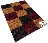 Multicolor Checkered Handmade Carpet