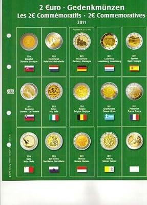 SAFE 7341-7 / Hoja impresa de monedas de 2 euros Premium ...