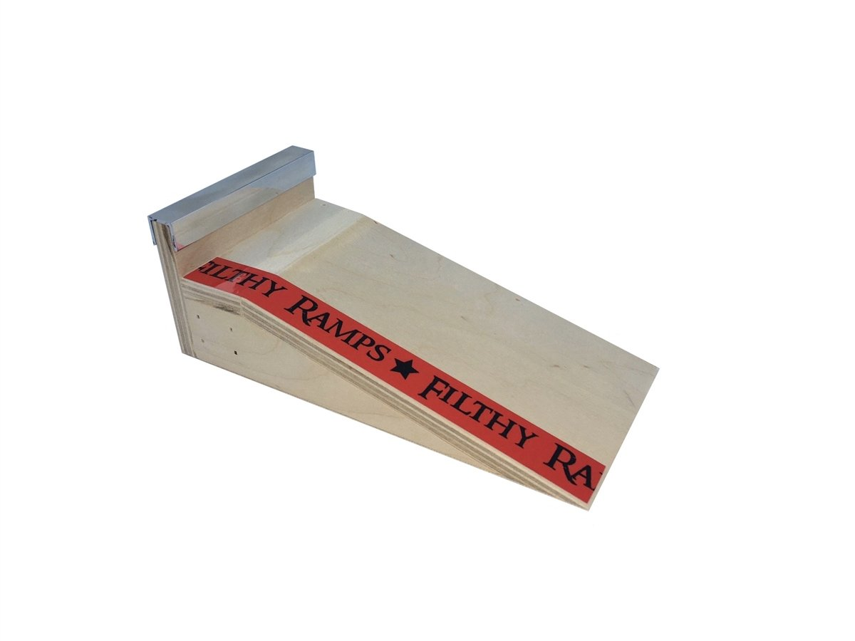 Filthy Fingerboard Ramps Pocket Loading Dock Lip Piercing Kicker Finger Board Ramp from