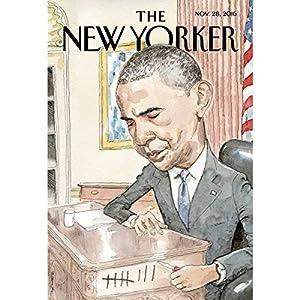 The New Yorker, November 28th 2016 (David Remnick, Nicola Twilley, Jelani Cobb) Periodical