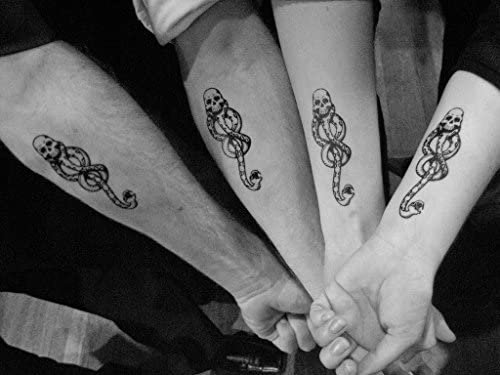 Harry Potter Death Eater Tattoo: Amazon.es: Belleza