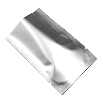Heat Seal Silver Aluminum Foil Mylar Food Storage Packing Bag Vacuum Pouches