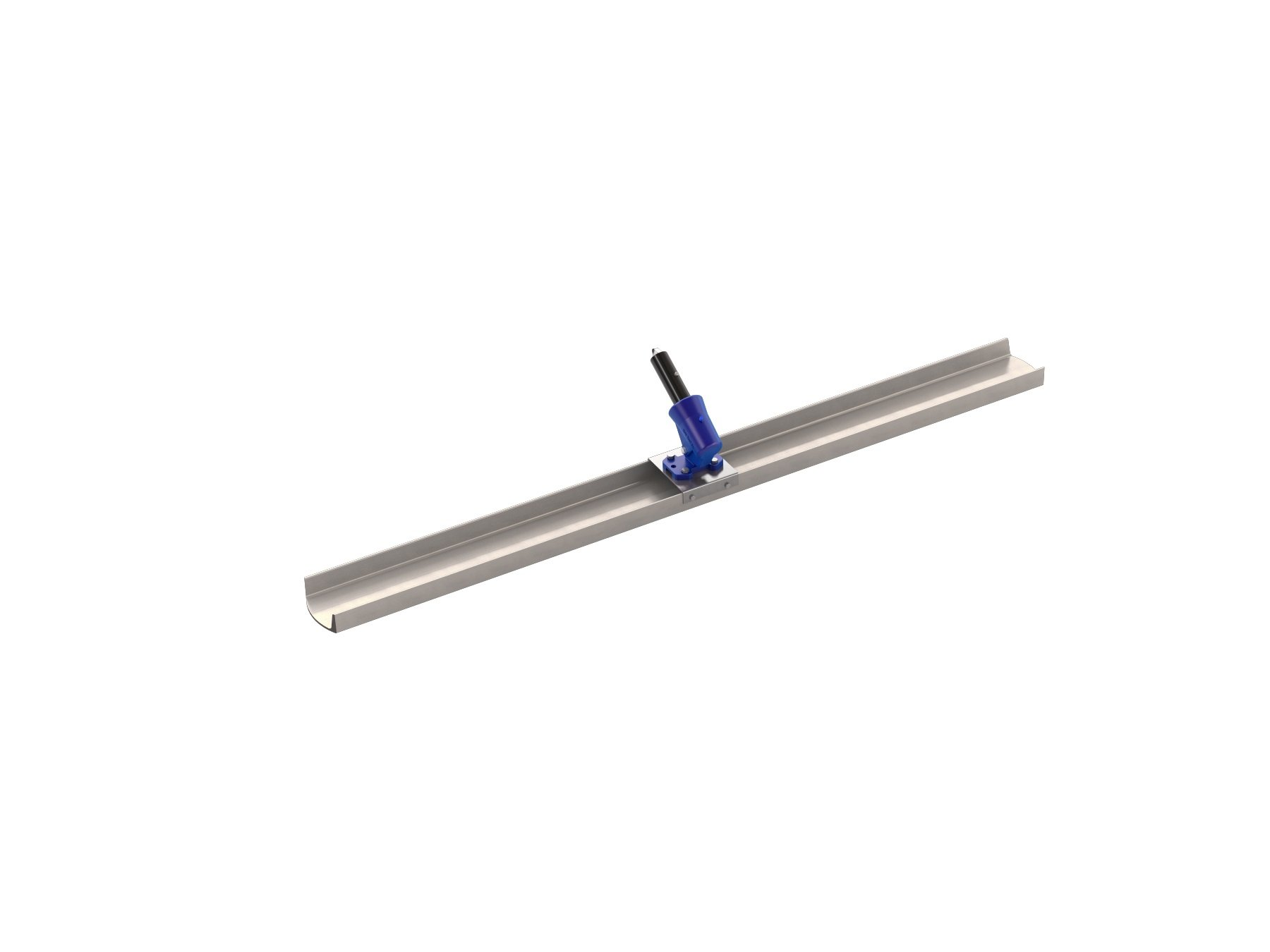 Bon 82-316 72-Inch by 6-Inch Round End Magnesium Channel Float with Wormgear Bracket