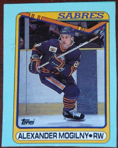 Alexander Mogilny Sabres Card, Sabres Alexander Mogilny