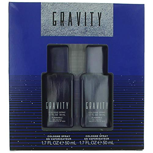 Coty Gravity 2 Piece Gift Set for Men