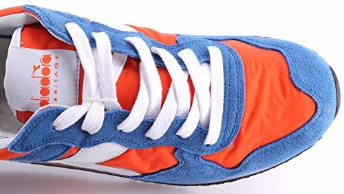 Diadora Trident NYL SW (Dark Orange / Princess Blue) (US 9.5 / EU 43.0)