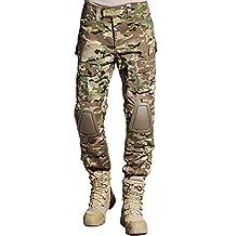 SINAIRSOFT Tactical Pants Shirt with Knee Pads Army Airsoft Combat BDU Pants Shirt MC