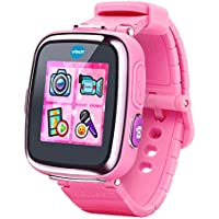 Reloj inteligente VTech para niños, color rosa.